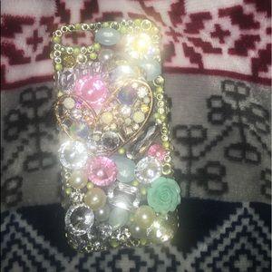 jewled phone case